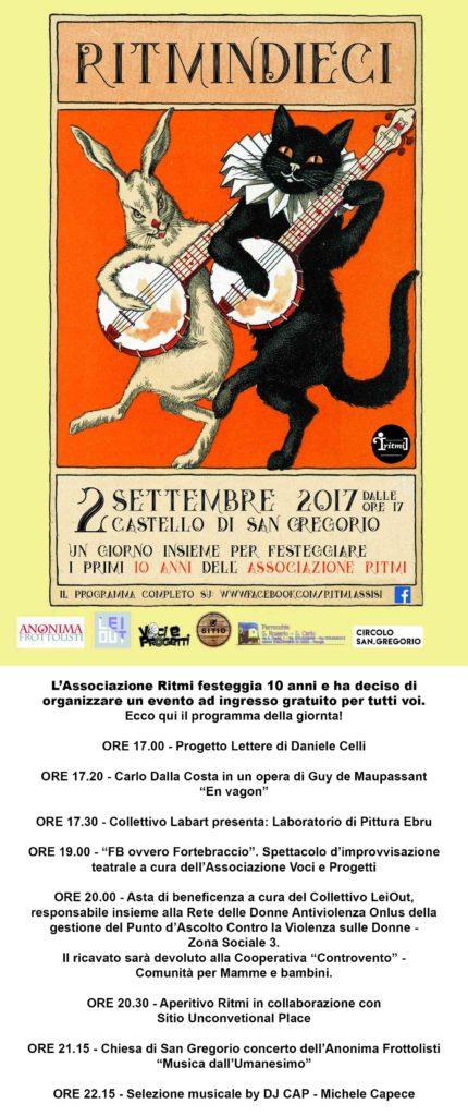 EVENTO DEL 02-09-17 PER SITO